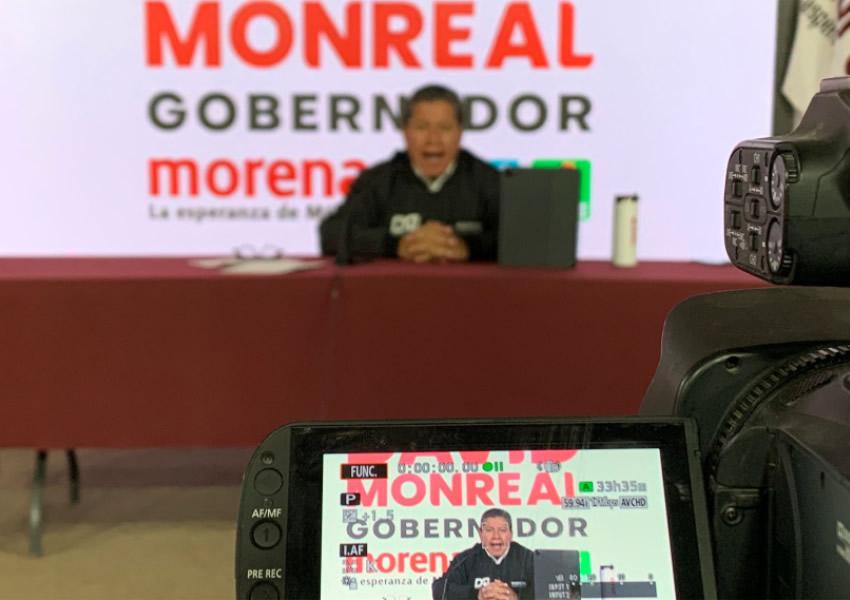 Lleva David Monreal un Mensaje de Esperanza y Transformación a las Comunidades de Zacatecas