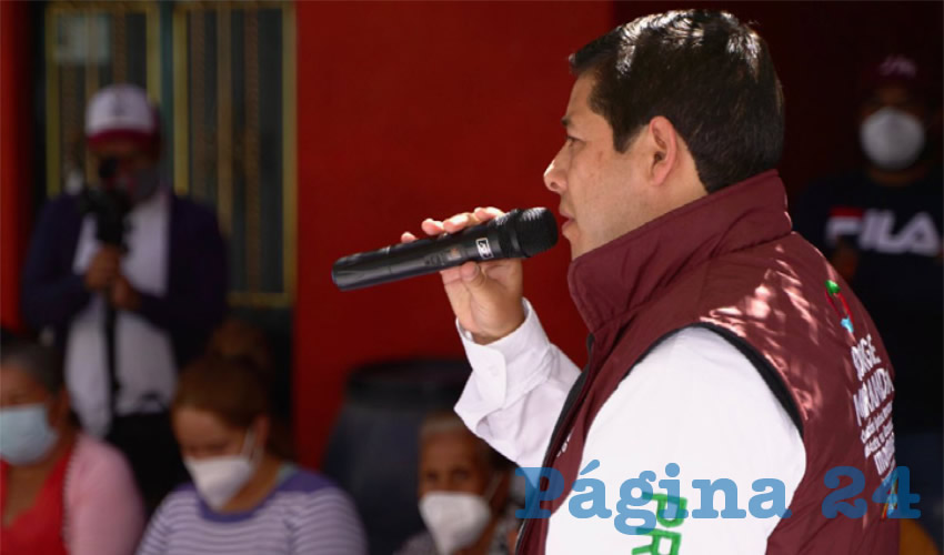 Jorge Miranda Busca Contribuir a la Pacificación de Zacatecas y el País