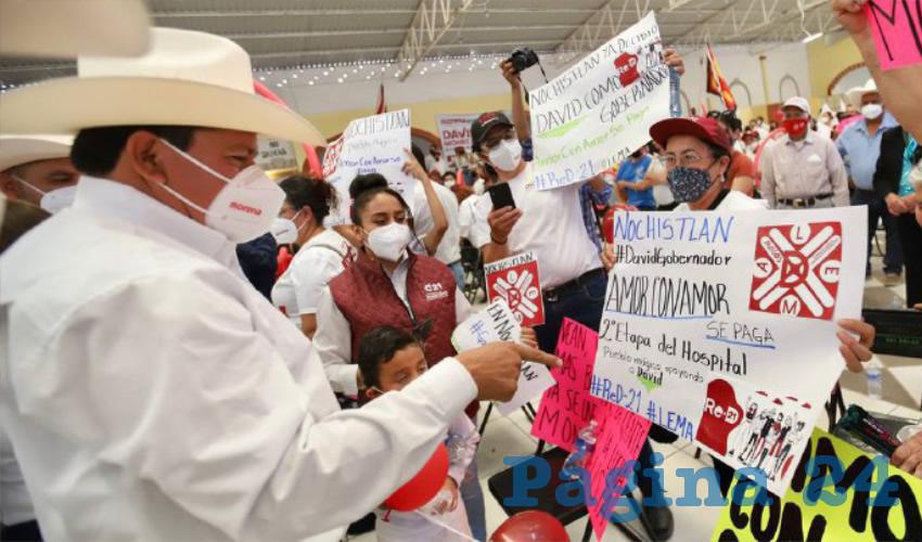 El sur de Zacatecas ha Despertado, Será Polo de Desarrollo: Monreal