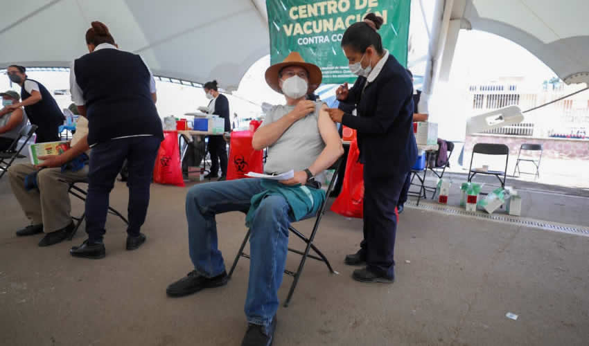 En Esta Semana Continúa la Vacunación en Aguascalientes
