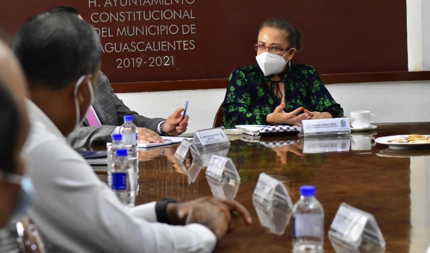 Municipio de Aguascalientes Estrecha Lazos de  Colaboración con las Organizaciones Sindicales