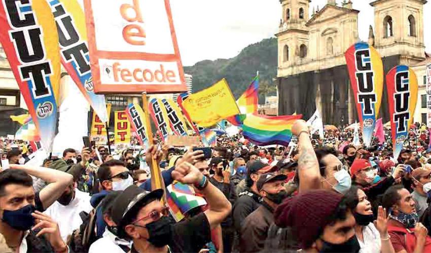 Critican las Medidas del Gobierno Sobre Protesta Pacífica en Colombia