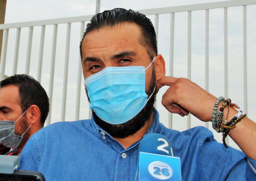 Ahorita no son Tiempos de Calenturas Políticas, Estoy Dedicado a la Vacunación: Aldo Ruiz