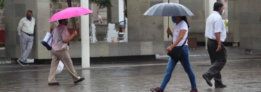 Esta Semana Habrá Lluvias en el Estado Según  Pronósticos del Servicio Meteorológico Nacional