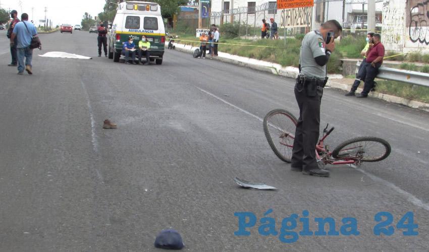 Atropellan y Matan a un Ciclista