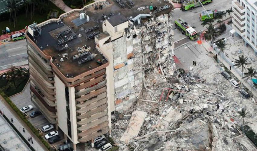 Encuentran más Cuerpos Bajo Edificio Derrumbado en Florida