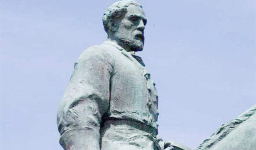 Remueven en EU Estatua Símbolo de Supremacistas