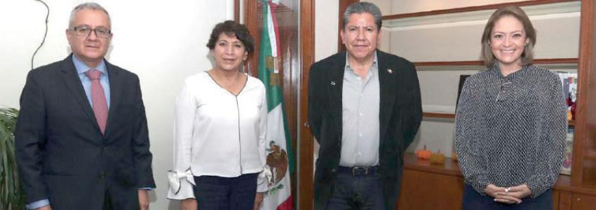 Se Reúne David Monreal Ávila con Delfina Gómez, Secretaria de Educación