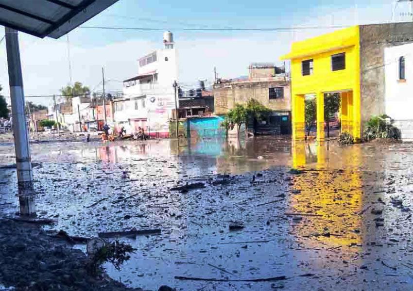 Inundación destrozó la zona de El Briseño