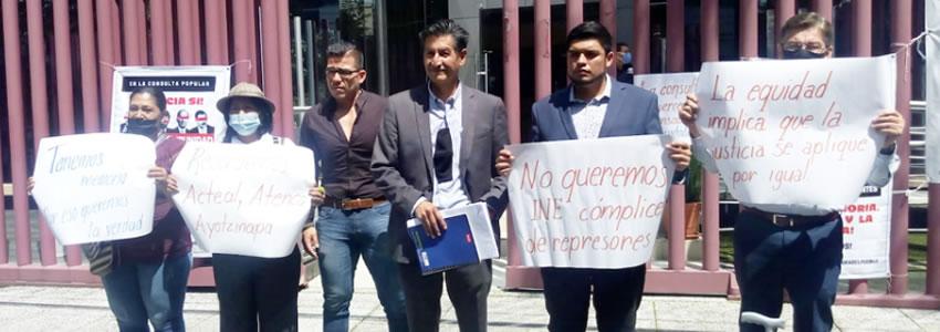 """""""El INE no está haciendo difusión de la consulta"""""""