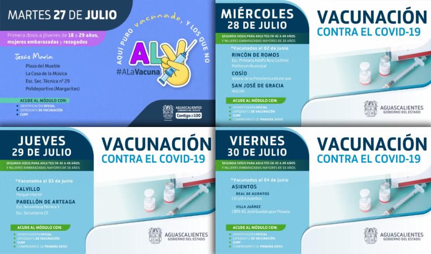 Aumentarán Cobertura de Vacunación de COVID-19 Para Todos los Grupos Etarios