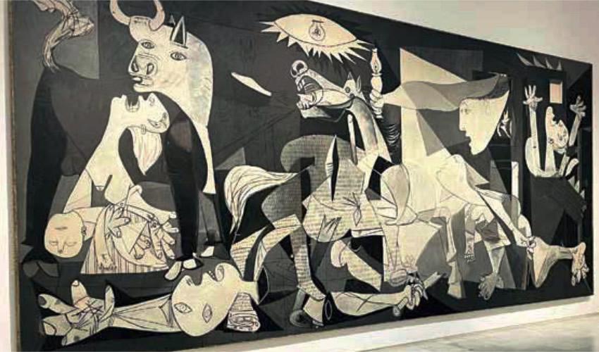 El Guernica de Picasso a Puertas Abiertas en Museo de Madrid, 40 Años Después