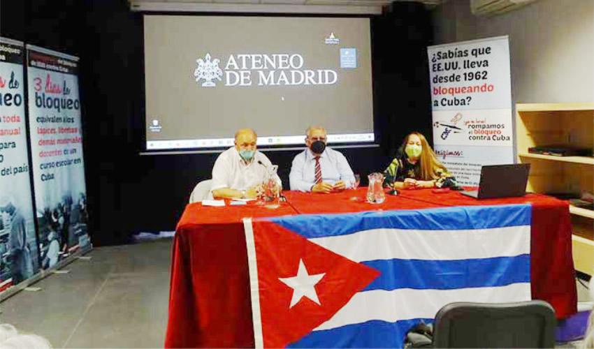Acogen en Madrid Documental Cubano Sobre Chernóbil