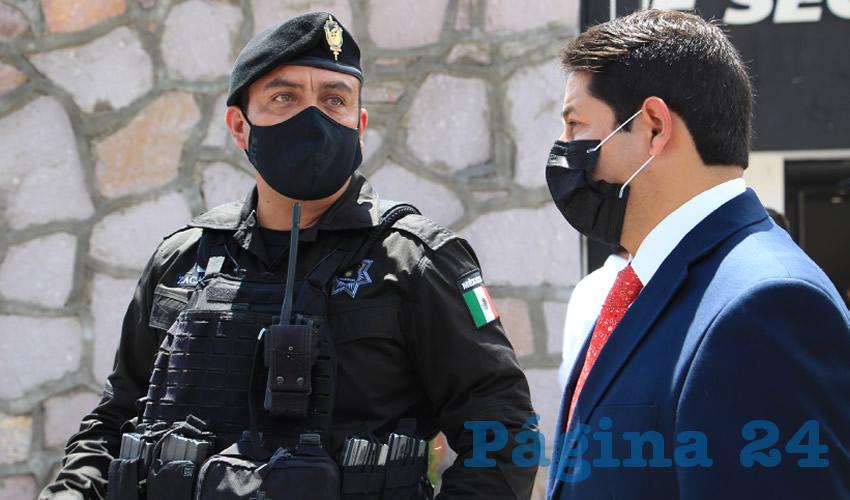 Miranda Nombra a Gustavo Serrano Como Nuevo Comandante de la Policía Municipal