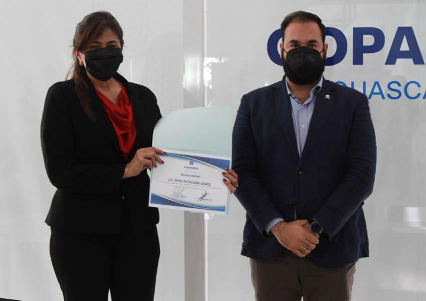 Nora Ruvalcaba se Comprometió con el  Empresariado a Combatir la Corrupción