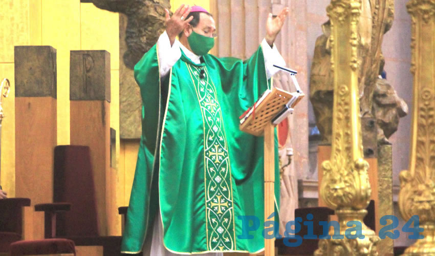 El Poder se Ejerce sin Pisotear a los Demás: Obispo S. Noriega