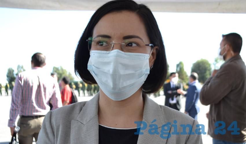 Luz Domínguez Insiste en la Creación de un Plan de Apoyos Para Víctimas de Delito