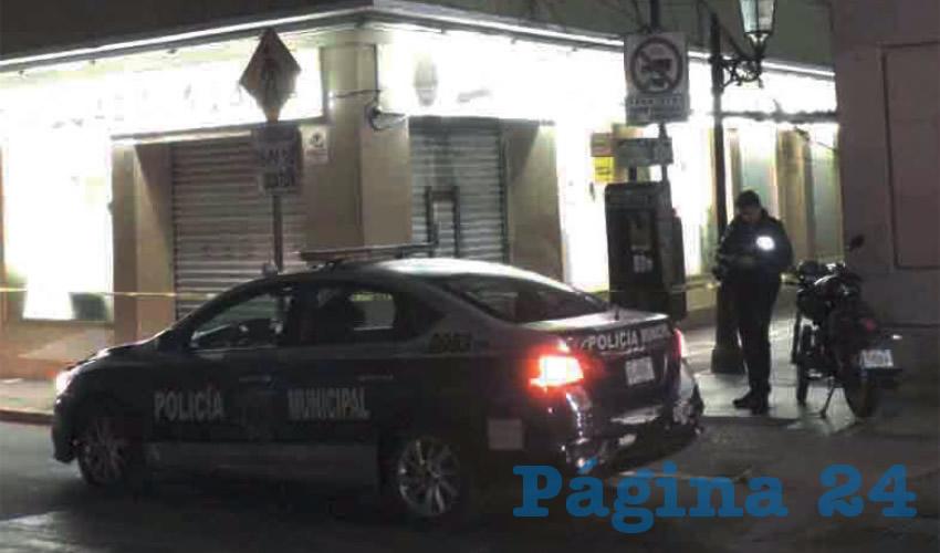 Arrestan a Cuatro Tipos que Saqueaban una Farmacia