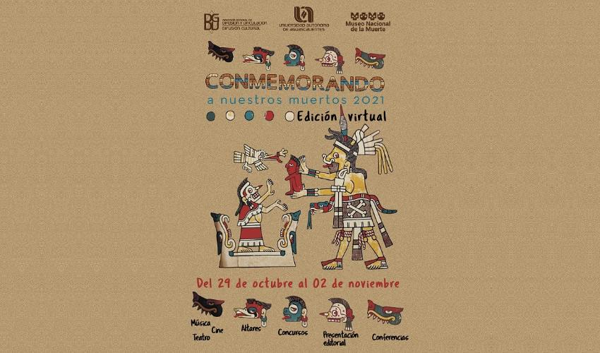 La UAA Invita a la Sociedad a Disfrutar del Arte y la Cultura en Conmemorando a Nuestros Muertos 2021